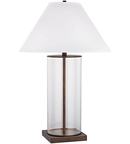 Park Slope 33 Inch 150 Watt DunbrookClear Table Lamp