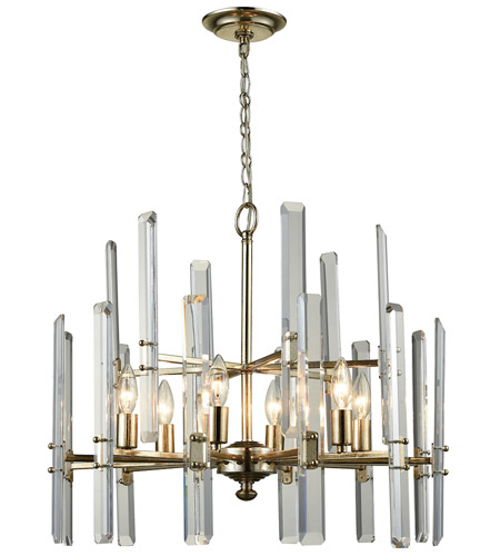 Dimond Lighting D3199 Arthur 6 Light 24 inch Antique Silver Leaf Chandelier Ceiling Light photo