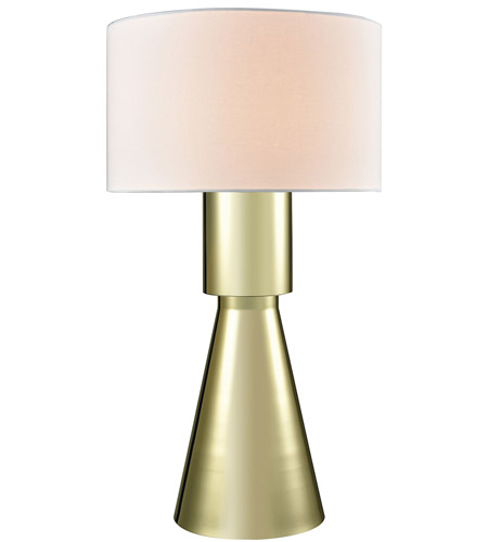 Dimond Lighting D3205 Paris 33 Inch 150 Watt Gold Plate Table Lamp Portable Light In Incandescent