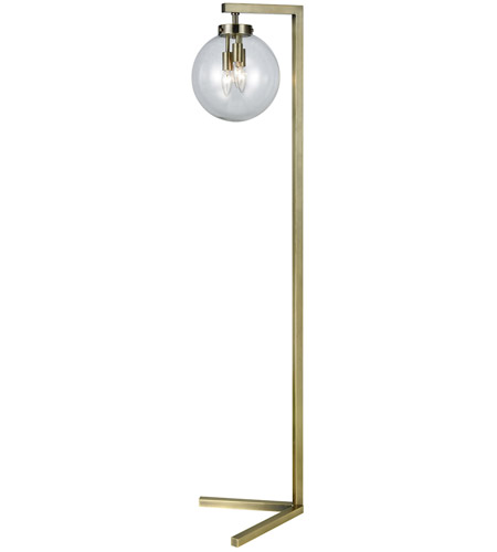 brass floor lamps with swing arm lamp target lighting hill watt antique portable light glass table