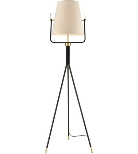 Dimond lighting d3367 cromwell 62 inch 100 watt black and brass dimond lighting d3367 cromwell 62 inch 100 watt black and brass floor lamp portable light aloadofball Images