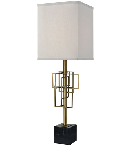 Dimond Lighting D3476 Hollywood Squarze 30 Inch Weathered Antique