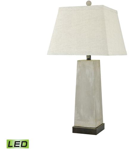 Dimond Lighting D3494 Concrete Blond 31 Inch Natural Concrete Table Lamp  Portable Light