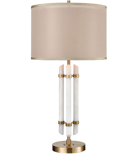 Dimond Lighting White Composite Table Lamps