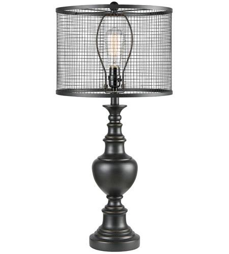 Dimond Lighting D3580 Savile Row 29 Inch Dark Bronze Table Lamp Portable Light