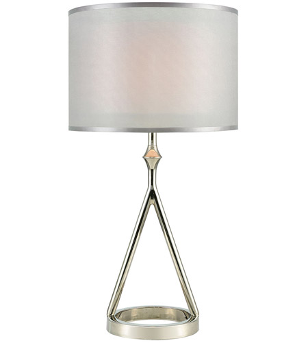 Dimond lighting d3632 queens speech 27 inch polished nickel table dimond lighting d3632 queens speech 27 inch polished nickel table lamp portable light aloadofball