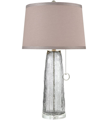 Dimond Lighting D3634 Katajanokka 31 inch 100 watt Grey Ombre Crackle Table Lamp Portable Light photo