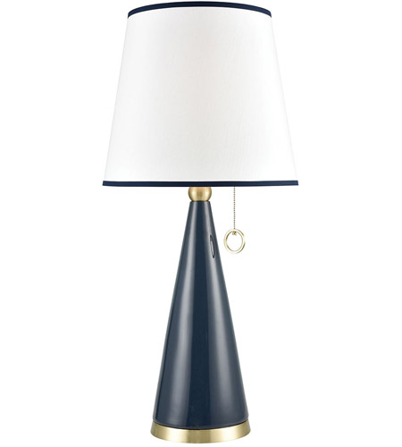 Dimond Lighting D3693 Kentucky Downs 35 Inch Blue Ceramic With Gold