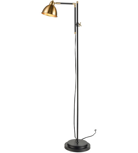 Aged Brass Metal Floor Lamps