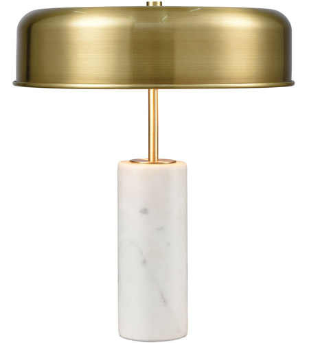 Brass Marble Table Lamps