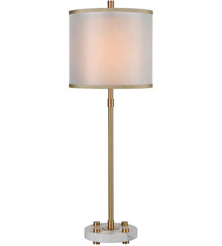 Grey Marble Table Lamps