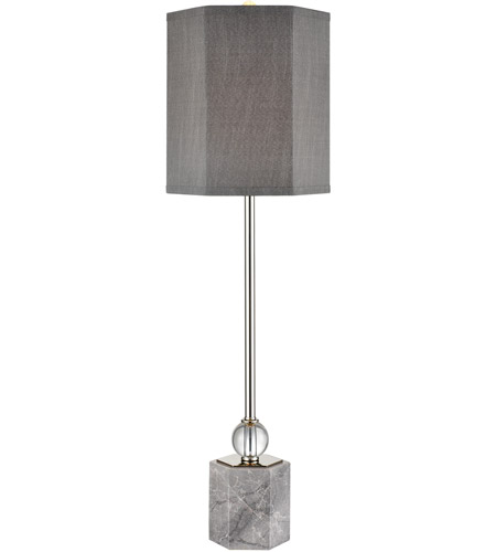 Dimond Lighting Grey Metal Table Lamps