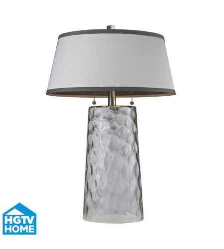 Dimond Lighting HGTV238 HGTV Home 25 inch 60 watt Clear Table Lamp Portable Light photo