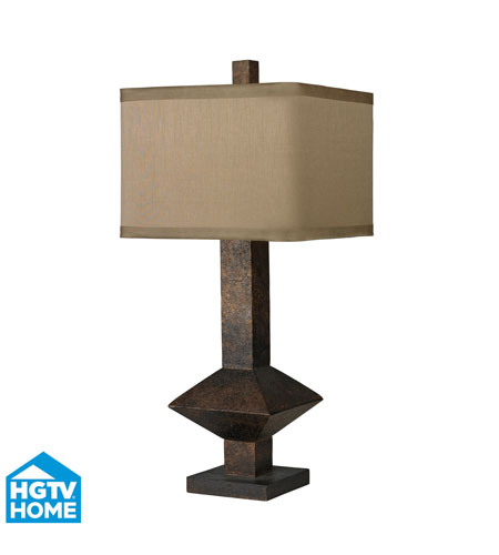 Dimond Lighting HGTV305 HGTV Home 33 inch 150 watt Burnished Bronze Table Lamp Portable Light photo
