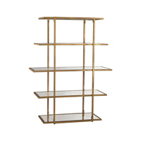 Lazy Susan by Dimond Lighting Frame Shelf in Gold Leaf 1114-171