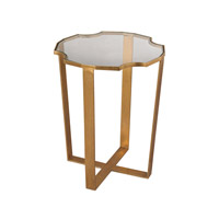 Lazy Susan by Dimond Lighting Cutout Top Martini Table in Gold Leaf 1114-174