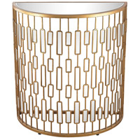 Dimond Lighting Fritzi Console Table in Gold 1114-194