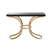 Beacon Towers 49 X 15 inch Gold Plate & Black Table Home Decor