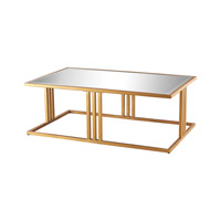 Dimond Andy Table in Gold Leaf & Clear 1114-198