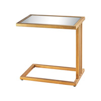 Dimond Andy Table in Gold Leaf & Clear 1114-199