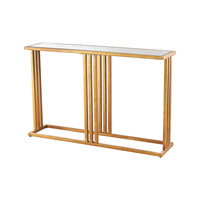 Dimond Andy Table in Gold Leaf & Clear 1114-200