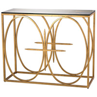 Dimond Lighting Amal Console Table in Antique Gold Leaf 1114-220