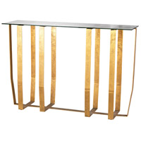 Dimond Lighting Ankara Console Table in Antique Gold Leaf 1114-233