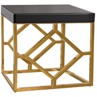Beacon Towers 22 X 18 inch Gold,Black Accent Table Home Decor