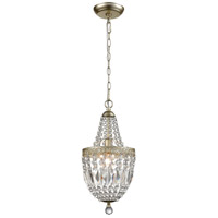 Dimond Lighting 1122-050 Morley 1 Light 8 inch Champagne Gold/Clear Mini Pendant Ceiling Light