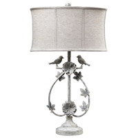 Dimond Lighting Saint Louis Heights 1 Light Table Lamp in Antique Whte 113-1134