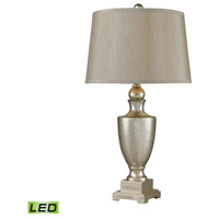 Dimond Lighting 113-1140-LED Antique Mercury 29 inch 9.5 watt Antique Mercury Glass and Silver Table Lamp Portable Light in LED