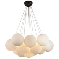 Cielo 3 Light 18 inch Oil Rubbed Bronze Chandelier Ceiling Light