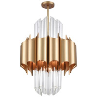 Dimond Lighting 1140-062 Cold Rolled 20 Light 24 inch Matte Gold Chandelier Ceiling Light photo thumbnail
