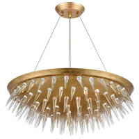 Dimond Lighting 1140-069 Sting 7 Light 22 inch Gold Leaf Chandelier Ceiling Light