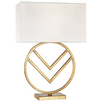Dimond Munich 1 Light Table Lamp in Gold Leaf 1141-002