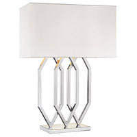 Dimond Munich 1 Light Table Lamp in Polished Nickel 1141-004