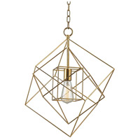 Dimond Neil 1 Light Pendant in Gold Leaf 1141-013
