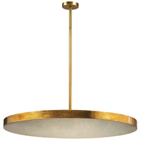 Laigne 4 Light 36 inch Gold Leaf Pendant Ceiling Light