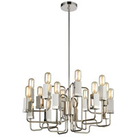 Dimond Lighting 1141-065 Symposium 16 Light 27 inch Polished Nickel Chandelier Ceiling Light photo thumbnail