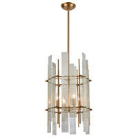 Dimond Lighting 1141-066 Mercury Ascendant 4 Light 15 inch Aged Brass Chandelier Ceiling Light