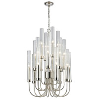 Dimond Lighting 1141-067 Shasta 20 Light 22 inch Polished Nickel Chandelier Ceiling Light
