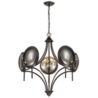 Dimond Lighting 1141-071 Cadabra 5 Light 28 inch Oiled Bronze Chandelier Ceiling Light
