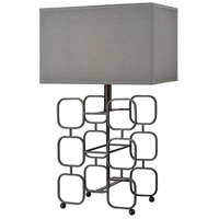 Interface 26 inch Oil Rubbed Bronze Table Lamp Portable Light