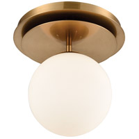 Dimond Lighting 1141-089 Picfair 1 Light 11 inch Aged Brass Flush Mount Ceiling Light