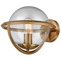 Sun Dog 1 Light 11 inch Aged Brass Wall Sconce Wall Light