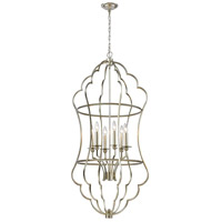 Dimond Lighting 1141-108 Bubble Form 6 Light 24 inch Antique Silver Leaf Pendant Ceiling Light
