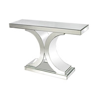 Lazy Susan by Dimond Signature Console Table in Clear 114172