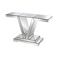 Signature 48 X 15 inch Clear Console Table Home Decor