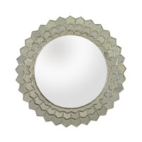 Lazy Susan by Dimond Signature Mirror in Antique Silver and Clear 114184