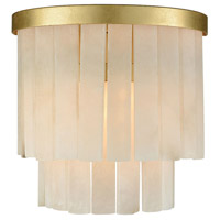 Orchestra 1 Light 9 inch Gold Leaf Wall Sconce Wall Light